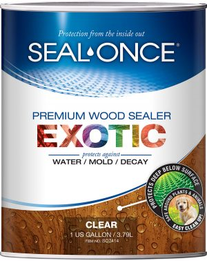 Seal Once Exotic Wood sealer 1 gallon