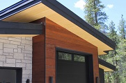 Thermally modified Hemlock siding and soffits