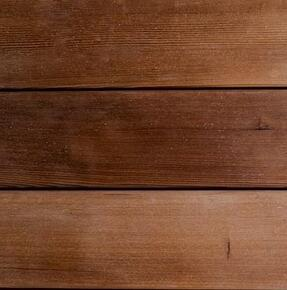 Thermally modified Hemlock softwood decking