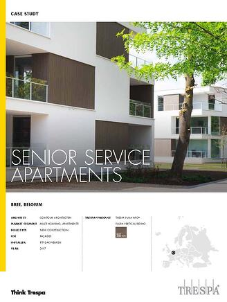 Trespa Pura Case Study Elderly Housing project