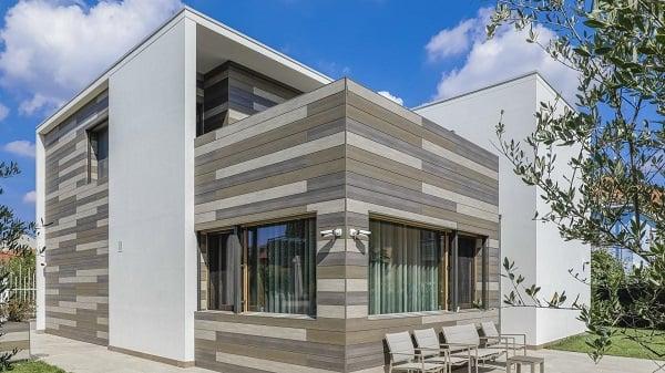 Trespa Pura NFC Siding mixed decors for facade