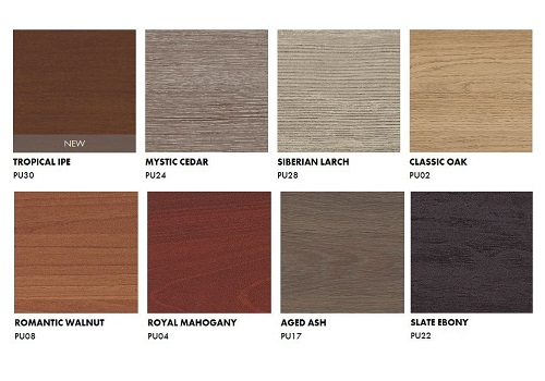Trespa Pura NFC Wood decors collection