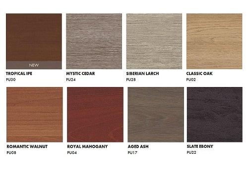 Trespa Pura NFC Wood decors jpeg