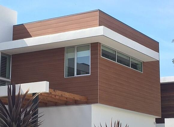 Trespa Pura wood decor siding performs great in hurricane zones