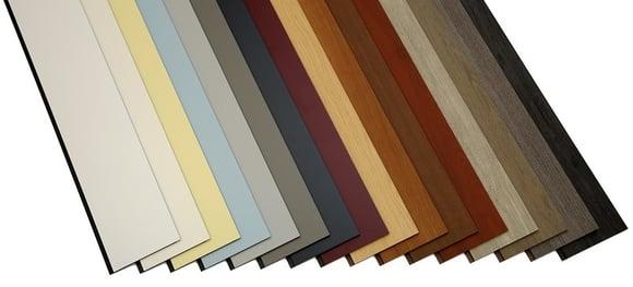 Trespa Pura siding colors