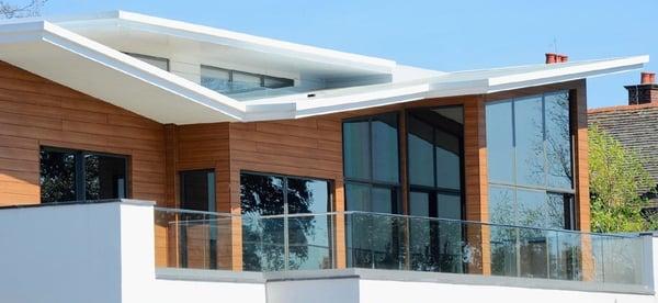 Trespa pura Romantic Walnut architectural cladding