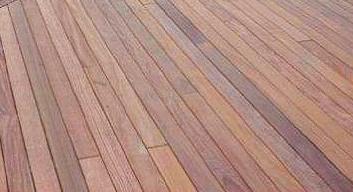 Cumaru hardwood decking is long lasting and beautiful
