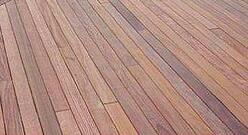 Cumaru hardwood decking is long lasting and beautiful