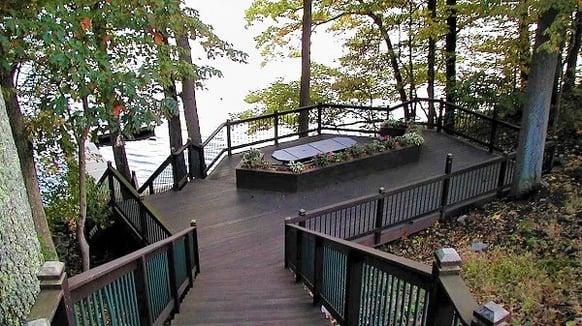 dauphin riverside deck