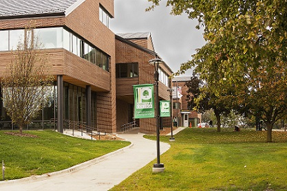 parkland college student union features climate-shield system