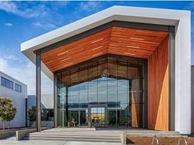 silicon valley business campus rainscreen
