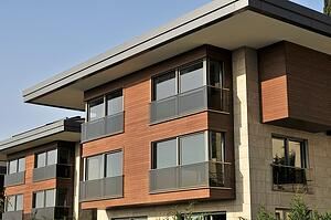 thermally modified ash cladding