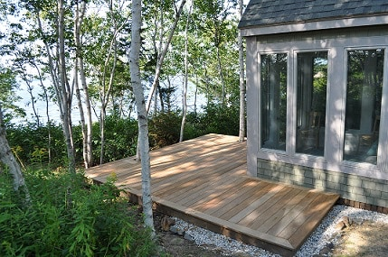 eco bridgton gallery rustic exterior pond cabins maine photo woods albums homes westwood main sale