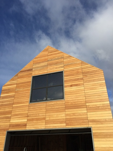 Climate-Shield Rain Screen System with Mataverde Garapa hardwood cladding -Hamptons, NY - Copy