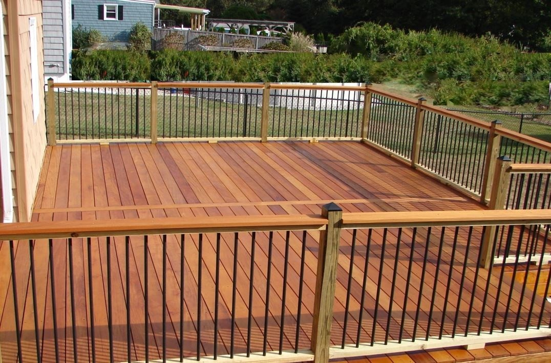 Garapa Hardwood Deck Adds Outdoor Living Space And Value