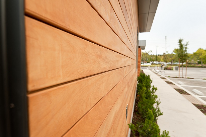 Garapa Climate-Shield rain screen