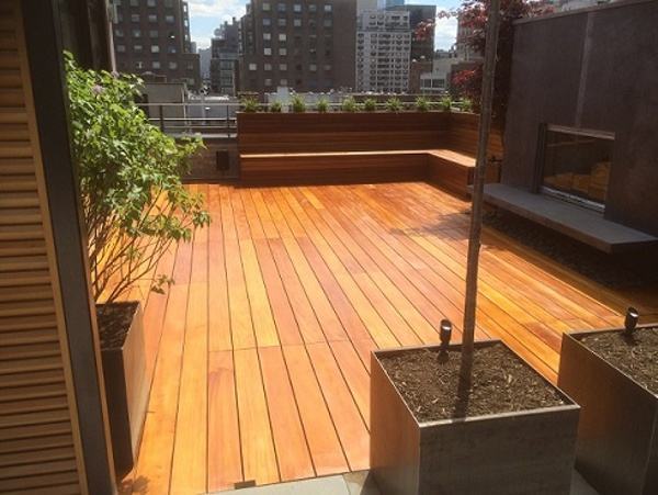 Garapa rooftop deck in NYC