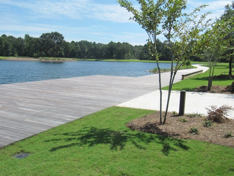 Ipe boardwalk at Bolden Park