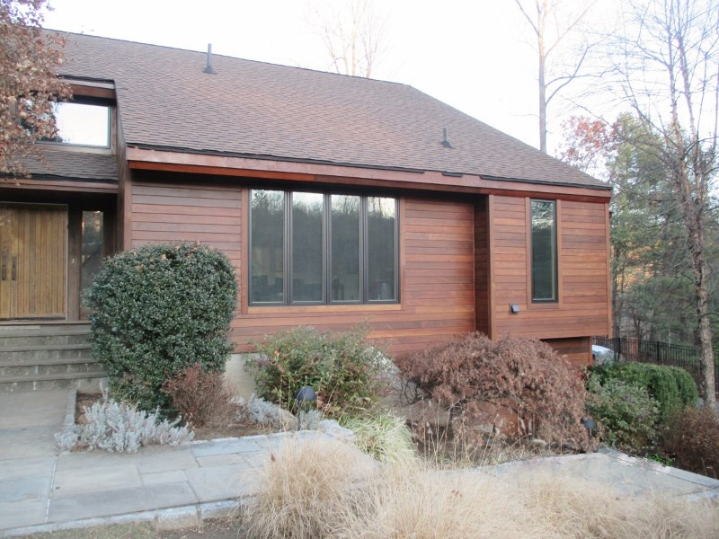 Ipe rain screen siding adds beauty, value and curb appeal to a home