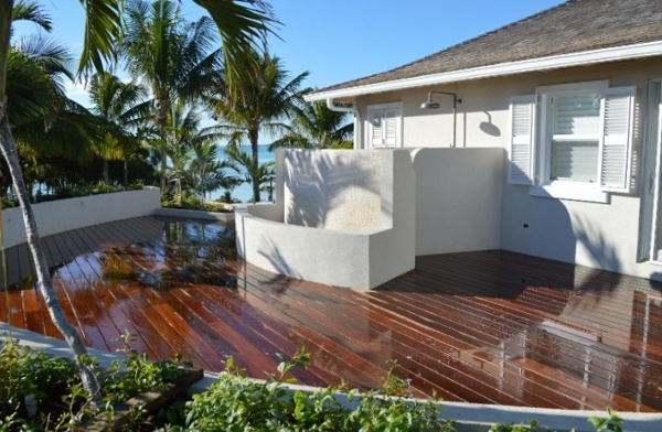 ipe deck in the Bahamas
