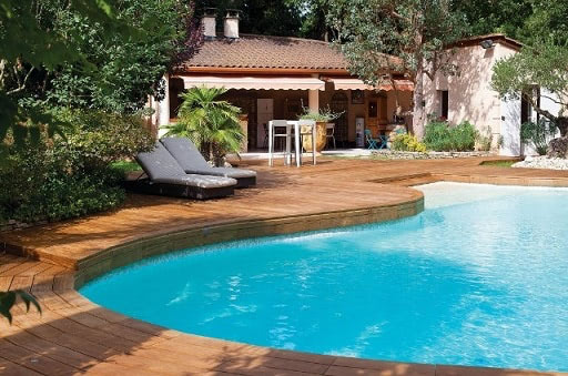 Kebony Decking around pool in France.jpg