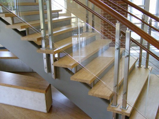 Lamboo Elements stair treads