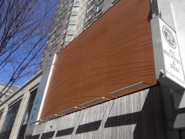 Lamboo rain screen facade