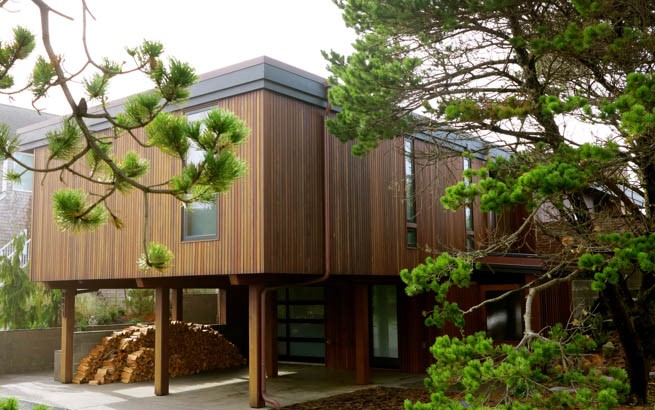 Manzanita ipe rain screen