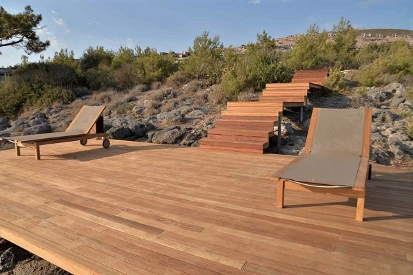 Mataverde thermowood decking and stairs