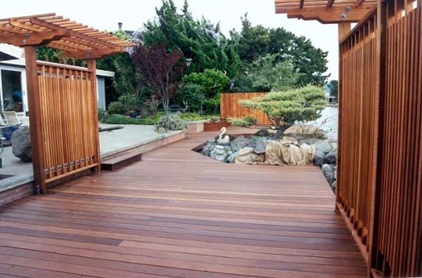 ipe deck and pergola