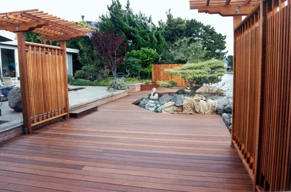 ipe deck and pergola