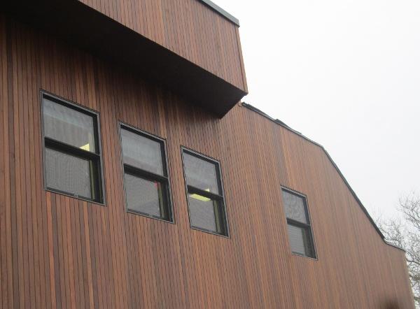 1x4 Ipe rain screen vertical installation