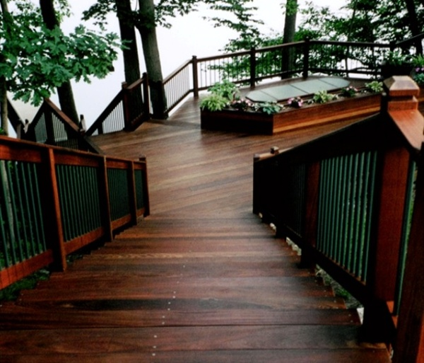Ipe deck and steps in Connecticut