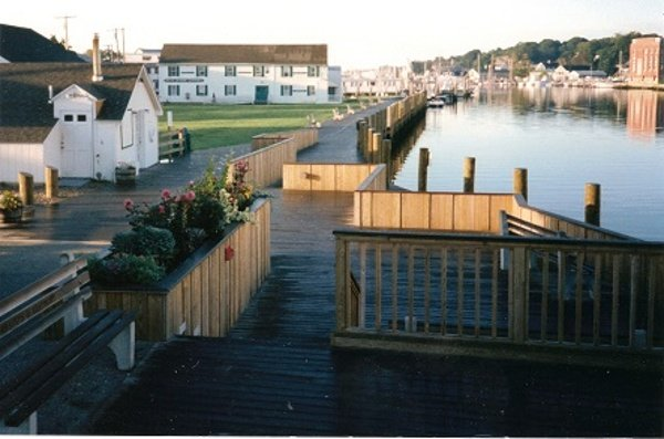 Ipe boardwalk decking in Mystic CT